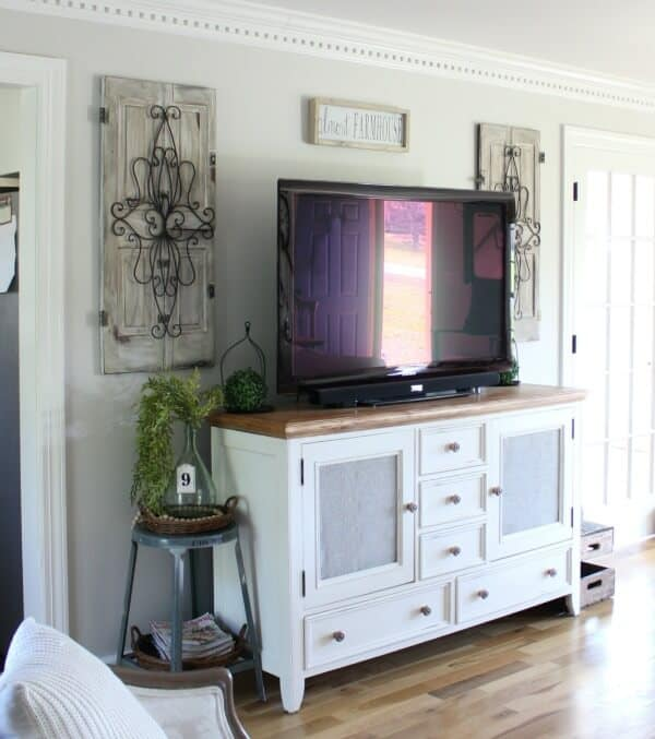 Repurposing old shutters: How we've used them over the years