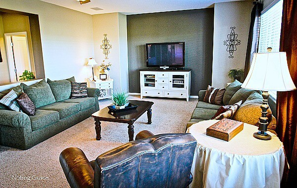 Simple tips in Staging a Family room may help you get the most for your home sale!