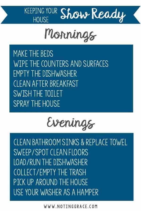 Cleaning your Home is the easiest and most affordable way to impress a buyer and may help in getting the price you want when an offer comes in. Yes, it's hard work, but it certainly pays off in the end.  We all know the importance of dusting, vacuuming and wiping down the counters, but here are a few things you don't want to miss and with my Daily Checklist, it's really very easy to stay on top of it if you get all the hard work done before you put it on the market.