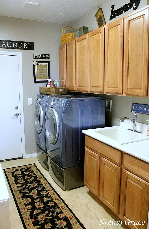 How to stage awkward spaces in selling your home. Laundry rooms, half baths and home offices