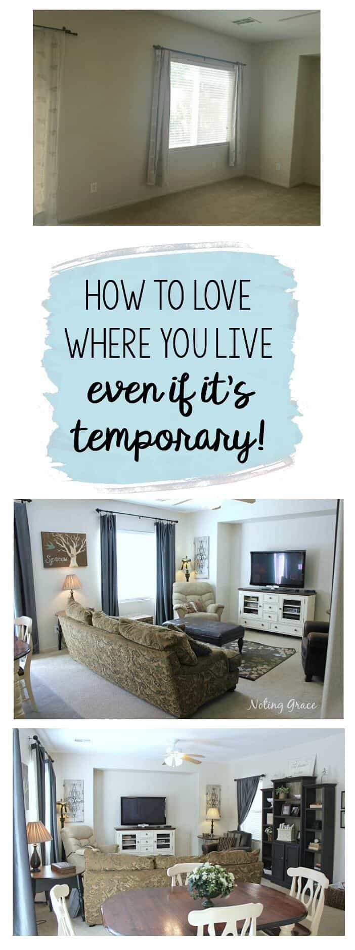 Decorating a Rental - how to love where you live, even if it's temporary!