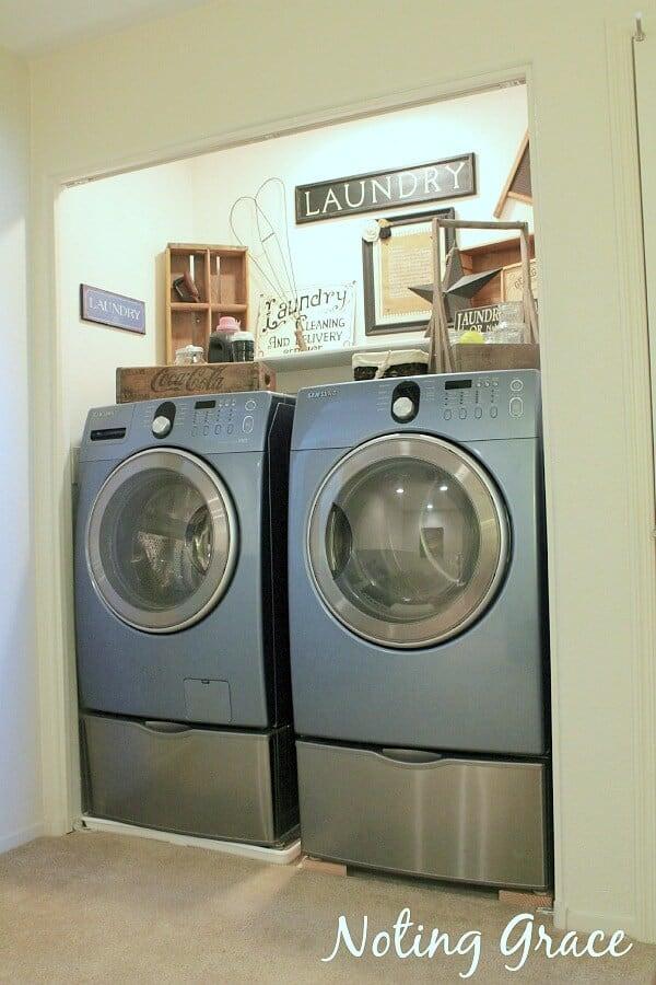 Rental Laundry Room