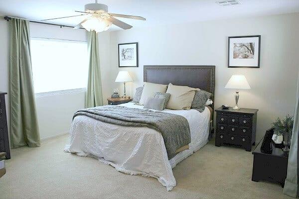Rental Master Bedroom