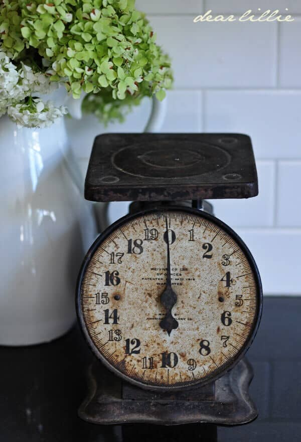 Dear Lille Kitchen Scale