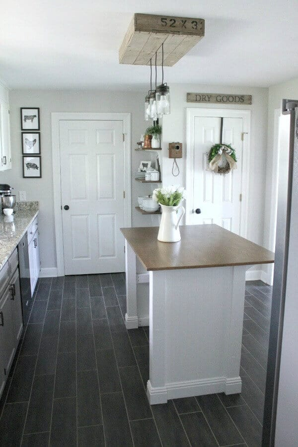 Farmhouse Pantry Makeover Reveal