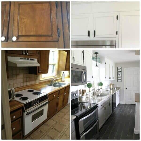 diy farmhouse kitchen remodel for just over 5000 noting