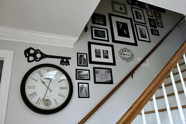 Creating a Stairway Gallery Wall | Noting Grace