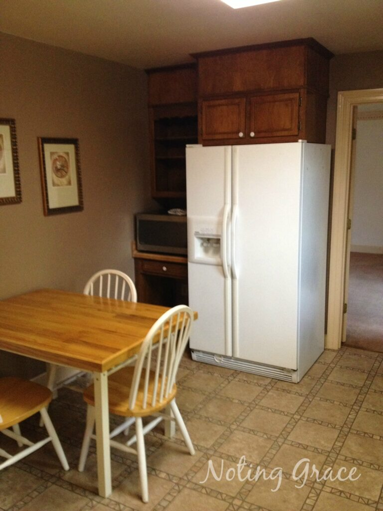 80s kitchen before
