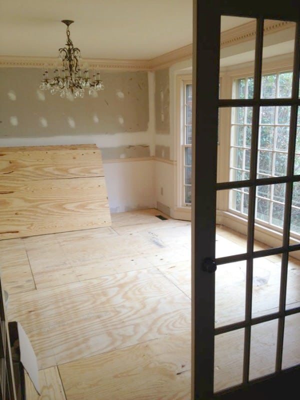 How to Save Thousands on Hardwoods - these homeowners share their tips and tricks that helped reduce the overall cost of their floors making affordable hardwood flooring possible!