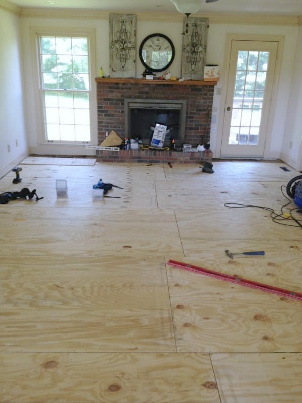 Affordable Diy Hardwood Flooring How We Saved Thousands Noting Grace