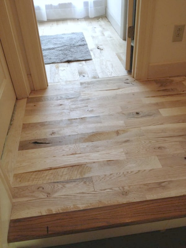 How to Save Thousands on Hardwoods - these homeowners share their tips and tricks that helped reduce the overall cost of their floors making affordable DIY hardwood flooring possible!