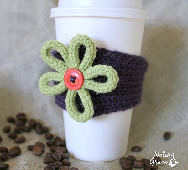 how to create a knit cozy