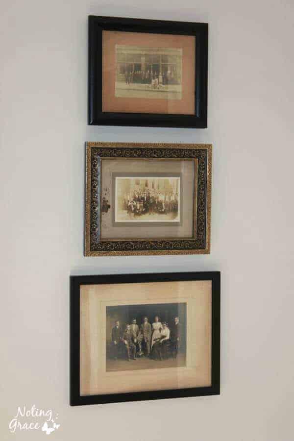 frames vintage heirloom photos