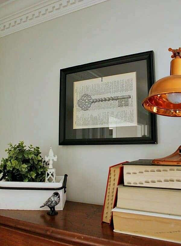 How to make your own DIY Dictionary Art work for your home.
