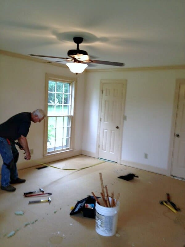 Making over our bedroom was top priority for this fixer. Here is the before and the plan for this Master Bedroom inspiration