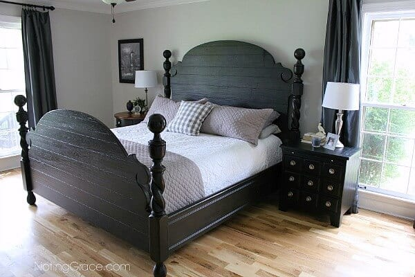 Master bedroom reveal for now noting grace for Bedroom furniture 37027