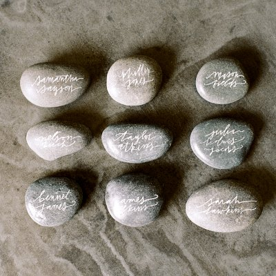 Written on Stone: Craft rocks that are easy to make and special ways to celebrate memorable moments.