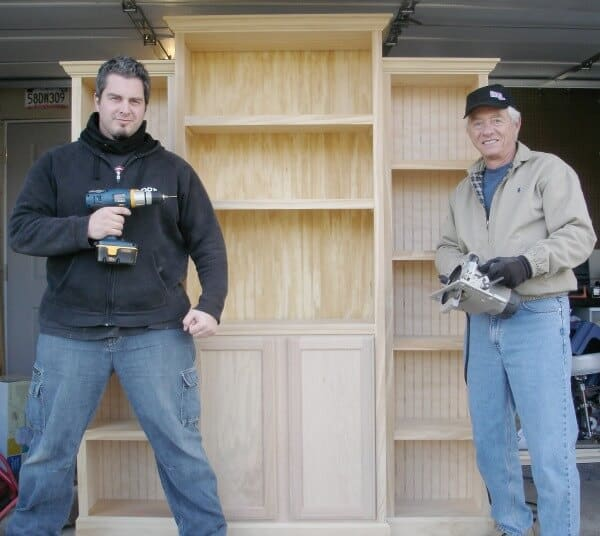Creating a mudroom built in cabinet - Week 4 of the ORC from Calling It Home