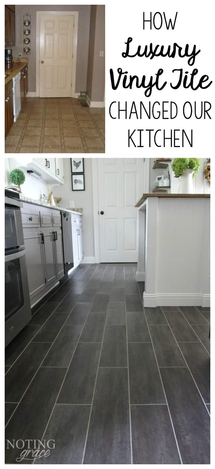 DIY Flooring How we changed our kitchen in 9 days for less than ...