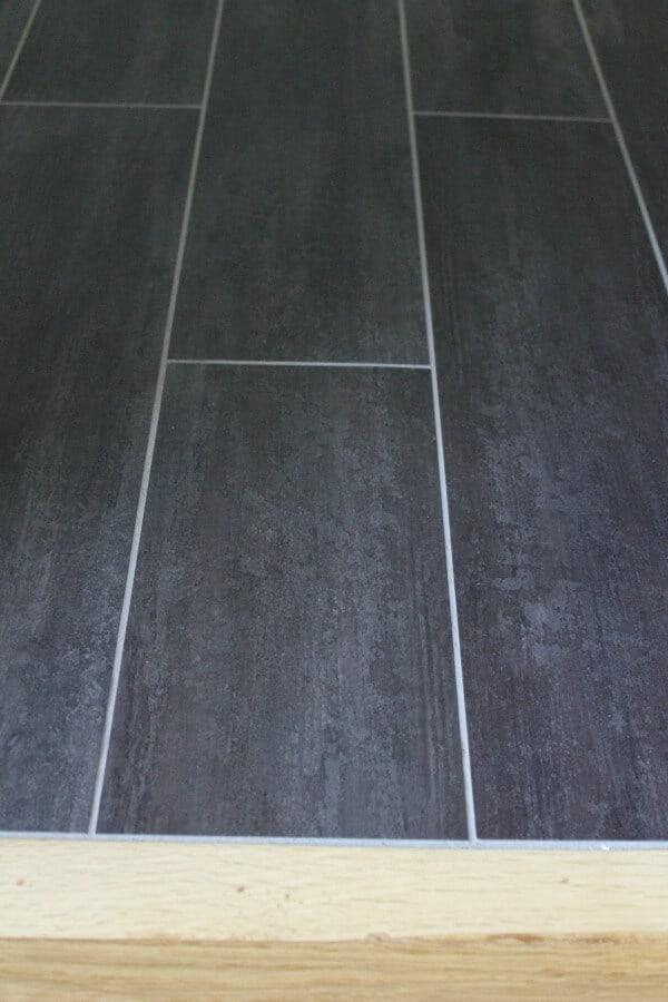 Luxury Vinyl Tile Transition