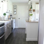 DIY Flooring: How we changed our kitchen in 3 days for less than $400