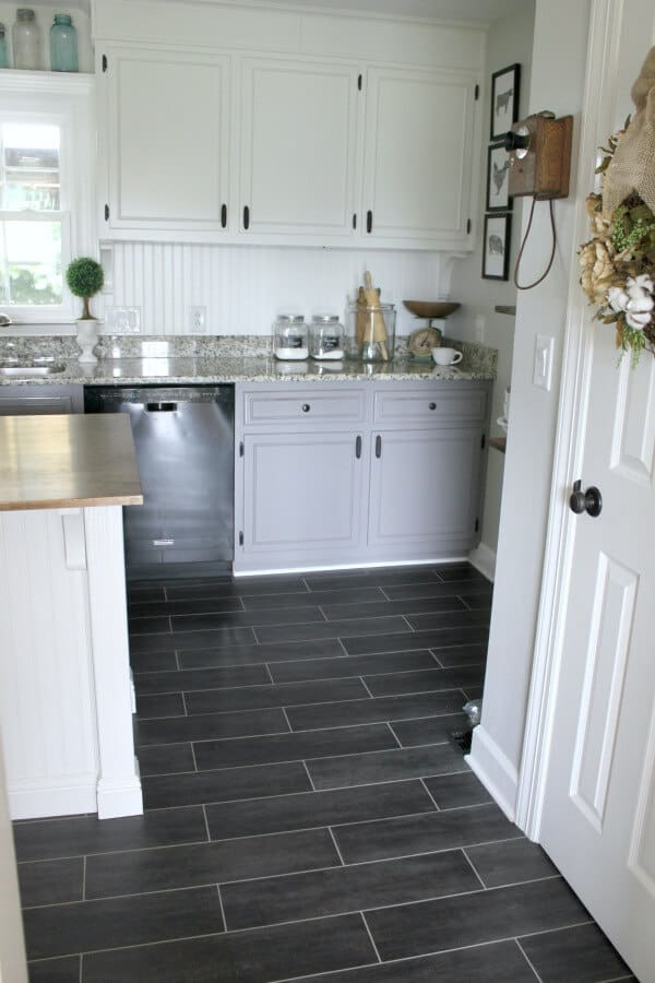 Diy Flooring How We Changed Our Kitchen In 3 Days For Less Than