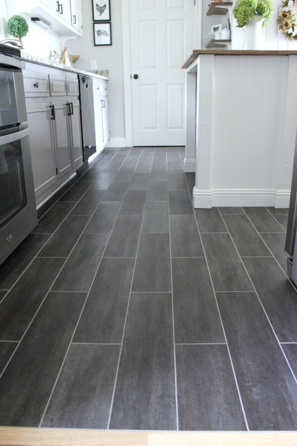 DIY Flooring: How we changed our kitchen in 3 days for less than ...