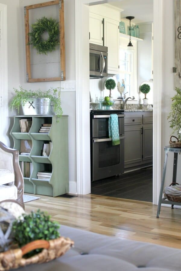 Adding Touches of spring to your home decor - a blog hop with 16 different bloggers!