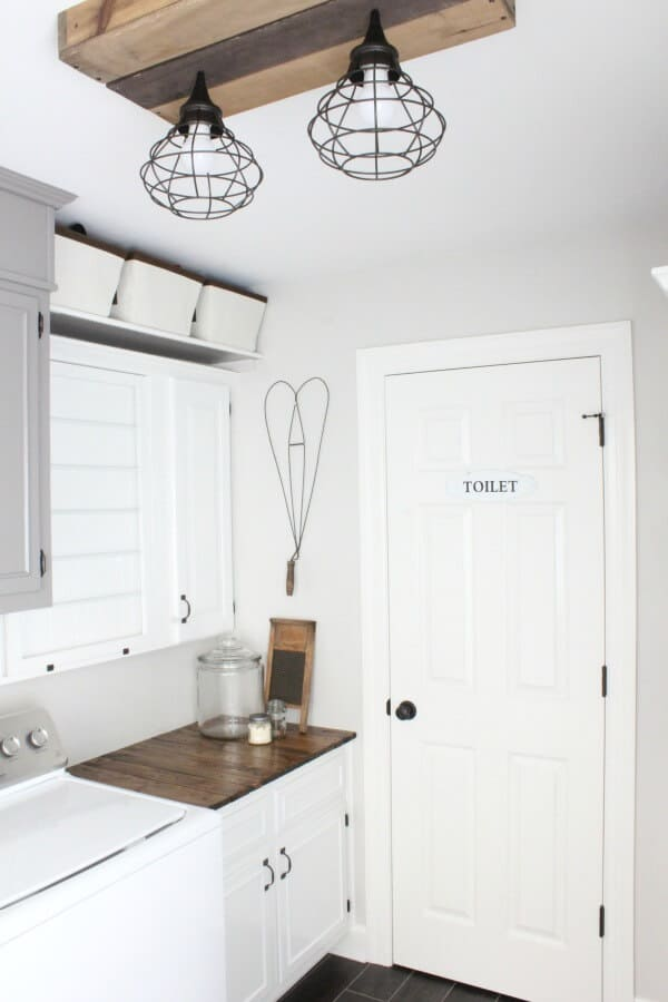 The door that was no more - These DIY bloggers create something awesome by moving an interior door and opened up the other wall for their master bedroom for the One Room Challenge.