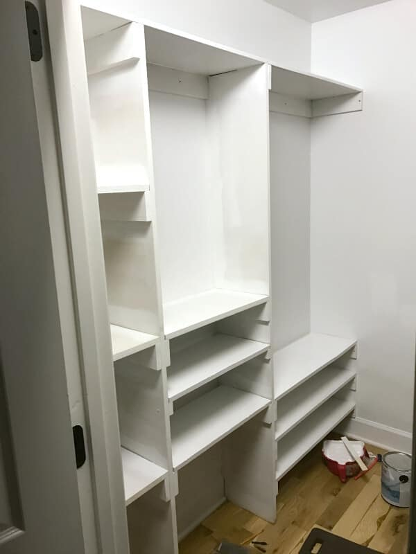 We're finally making over a Master closet for the One Room challenge
