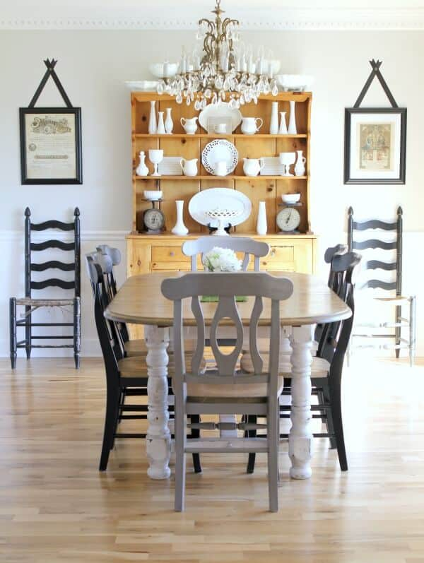 Fabulous A Budget Friendly Dining Room Makeover | Noting Grace TA95