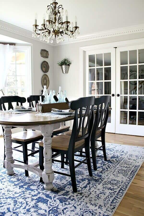 A Budget Friendly Dining Room Makeover I M Sharing How Created Cozy