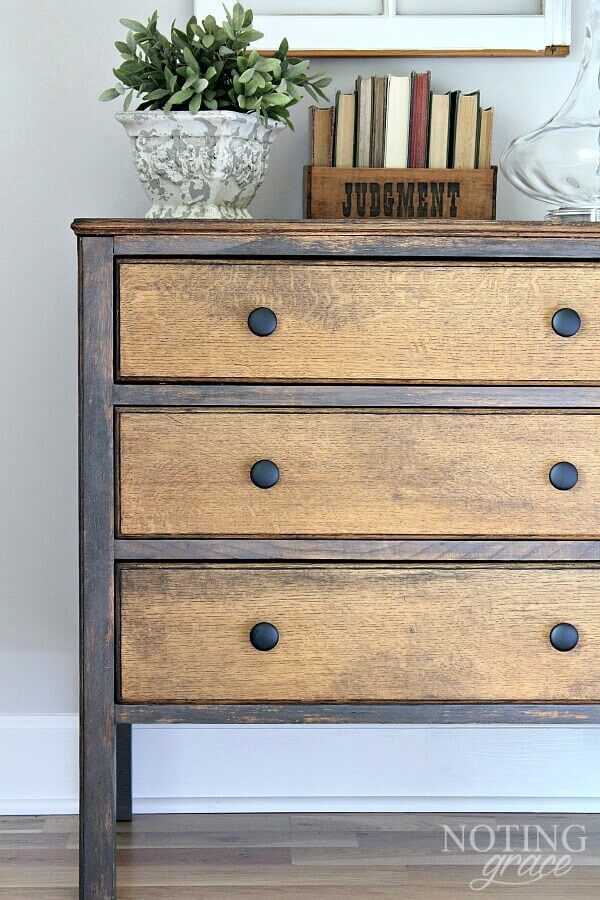 Do you have pieces of furniture that you have been putting off fixing because you are worried it will be a huge undertaking? Here is how we a simply furniture DIY took us by surprise and became one of our favorites.