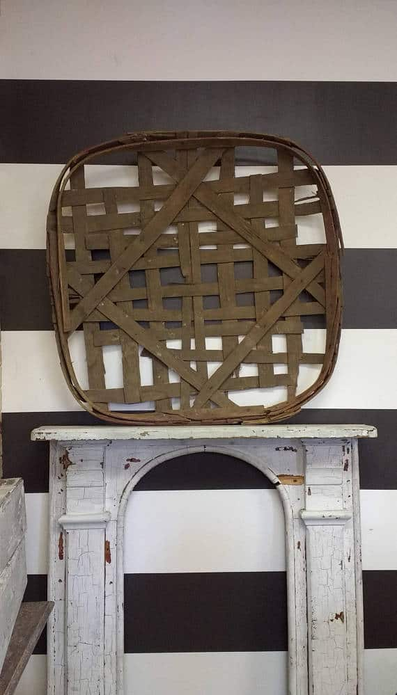 How to decorate with Tobacco Baskets
