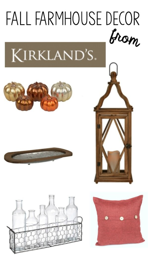 Cozy Fall Farmhouse Decor - Here's how to incorporate coziness in your fall decor from Kirklands.