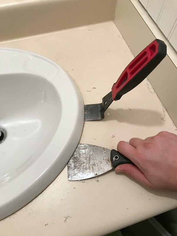 Diy Wood Bathroom Countertop An Easy Way To Change Your