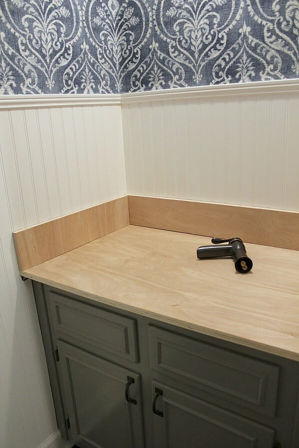 Week 5 of the One Room Challenge was slow going, but we've got the cuts made for our wood countertop!