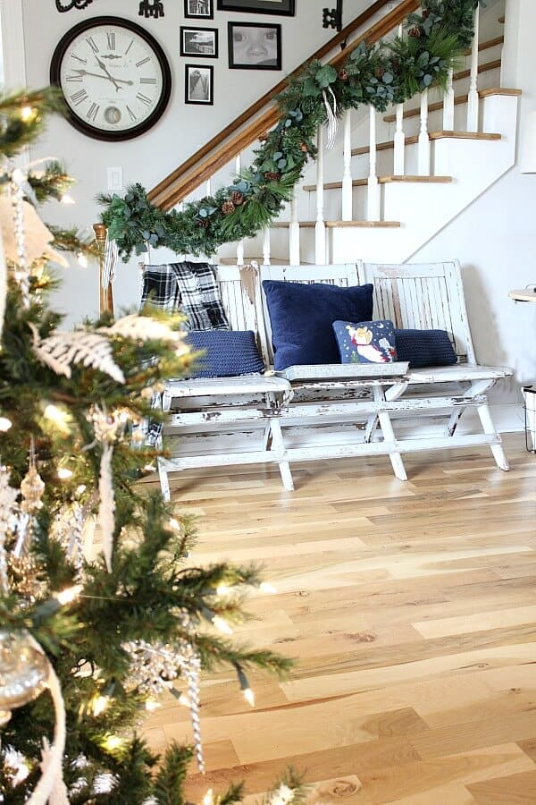 My Cozy Christmas Family Room - how I'm creating a place to make memories this season and sharing for the Home for the Holidays Christmas Blog Hop