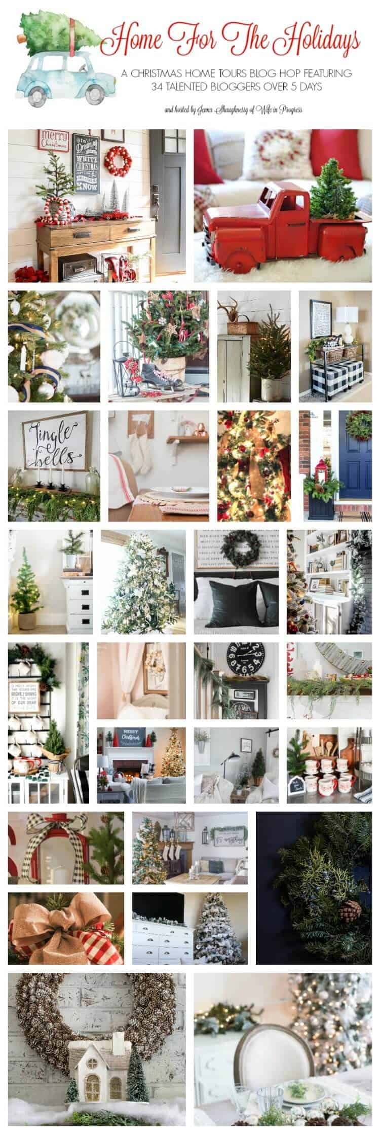 Home for the Holidays Christmas Blog Hop
