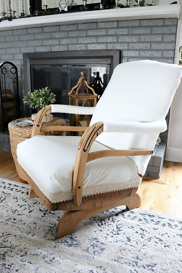Vintage Rocking Chair Makeover Noting Grace