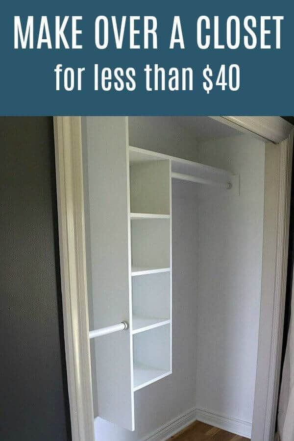 Making Over A Closet For Less Than $40   One Room Challenge Week 3 | Noting  Grace