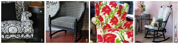 Over 50 Easy Upholstery Projects you can DIY today!
