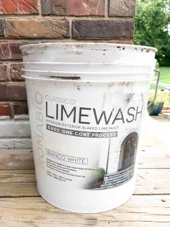 classico Limewash bucket