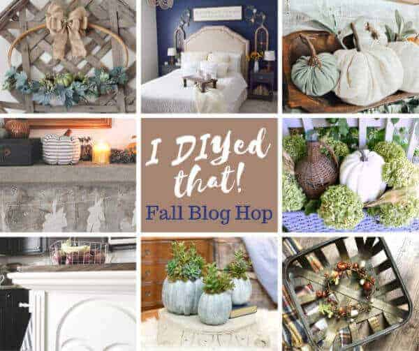 Easy DIY Fall Hoop Wreath