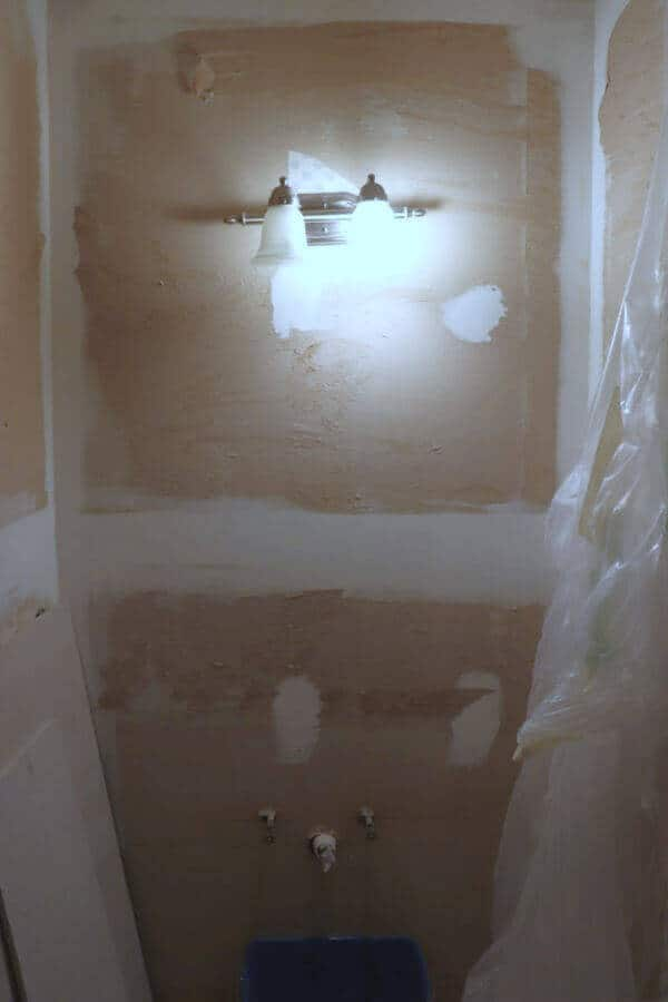 Master Bath Demolition - how our design plan is unfolding as we take our bathroom down to the studs.