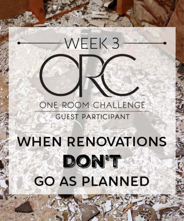 When Renovations Don't go as planned and how to overcome problems that arise