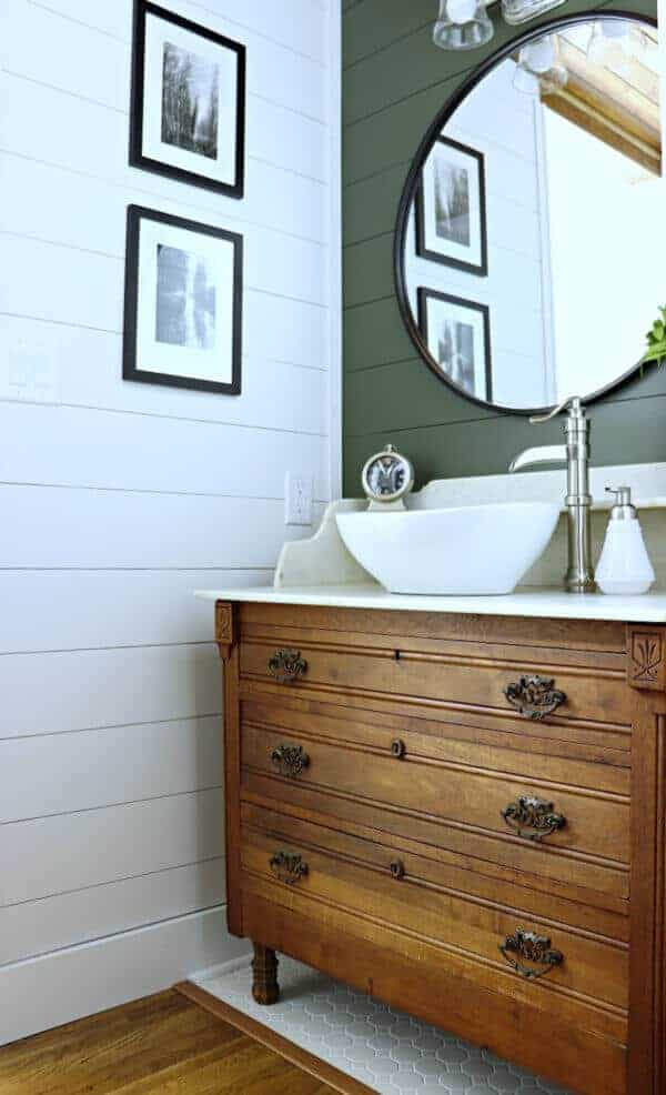 It was daunting to think we could take on arenovation, but we did it. Here's how we completed our Master Bathroom Makeover for less than $4500 in 6 weeks.