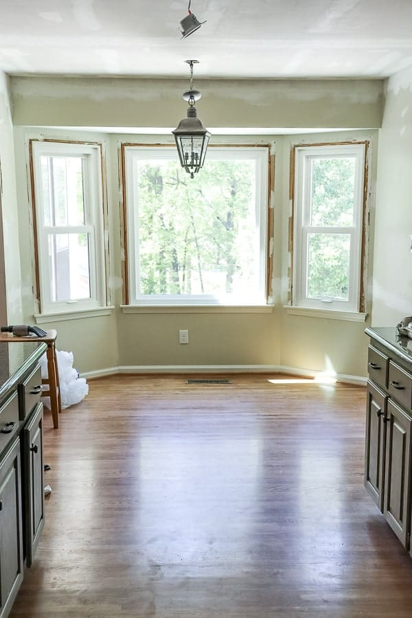 When you are making over a room on a teeny budget, sometimes the tough stuff is left for you to do. On this Timeless Farmhouse Kitchen Renovation - Demolition Week, we have had to stretch our DIY skills!