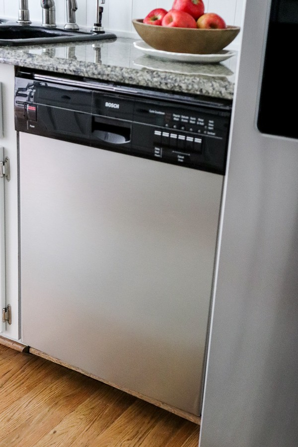 How to Update Your Appliances to Look Like New with EZ Faux Panels