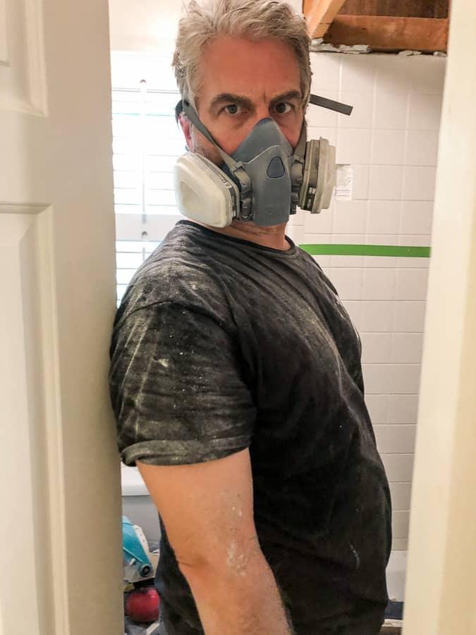 Shower Renovation Raising a Low Ceiling